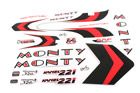 Monty 221 kamel 08 Stickers Set
