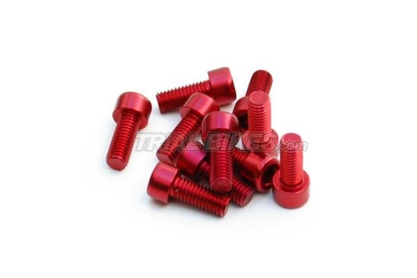 Tornillo Aluminio soporte maneta Hope M5x12 (1 und)