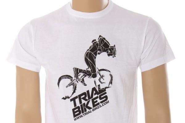 TrialBikes 2013 V1 White T-Shirt
