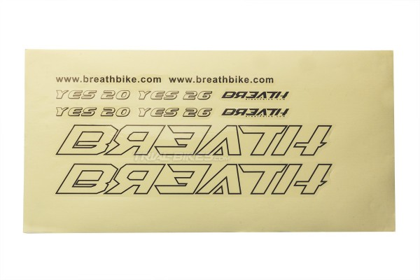"Breath Yes 20/26"" Sticker Set"