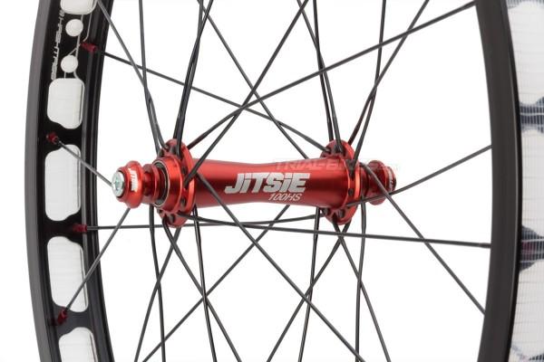 "Hashtagg 20'' + Jitsie Race HS 20"" Front Wheel"