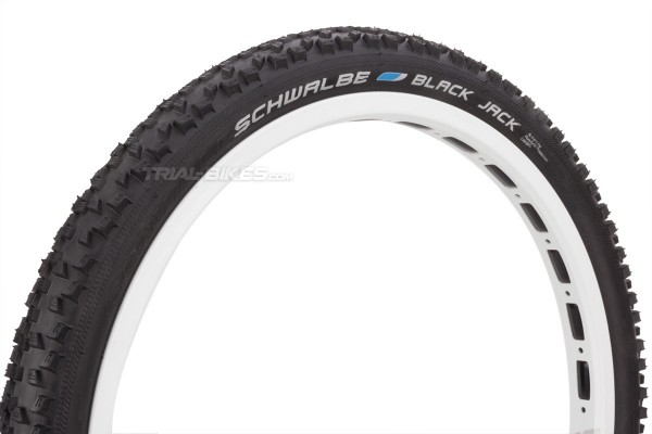 Neumático delantero Schwalbe Black Jack 20''