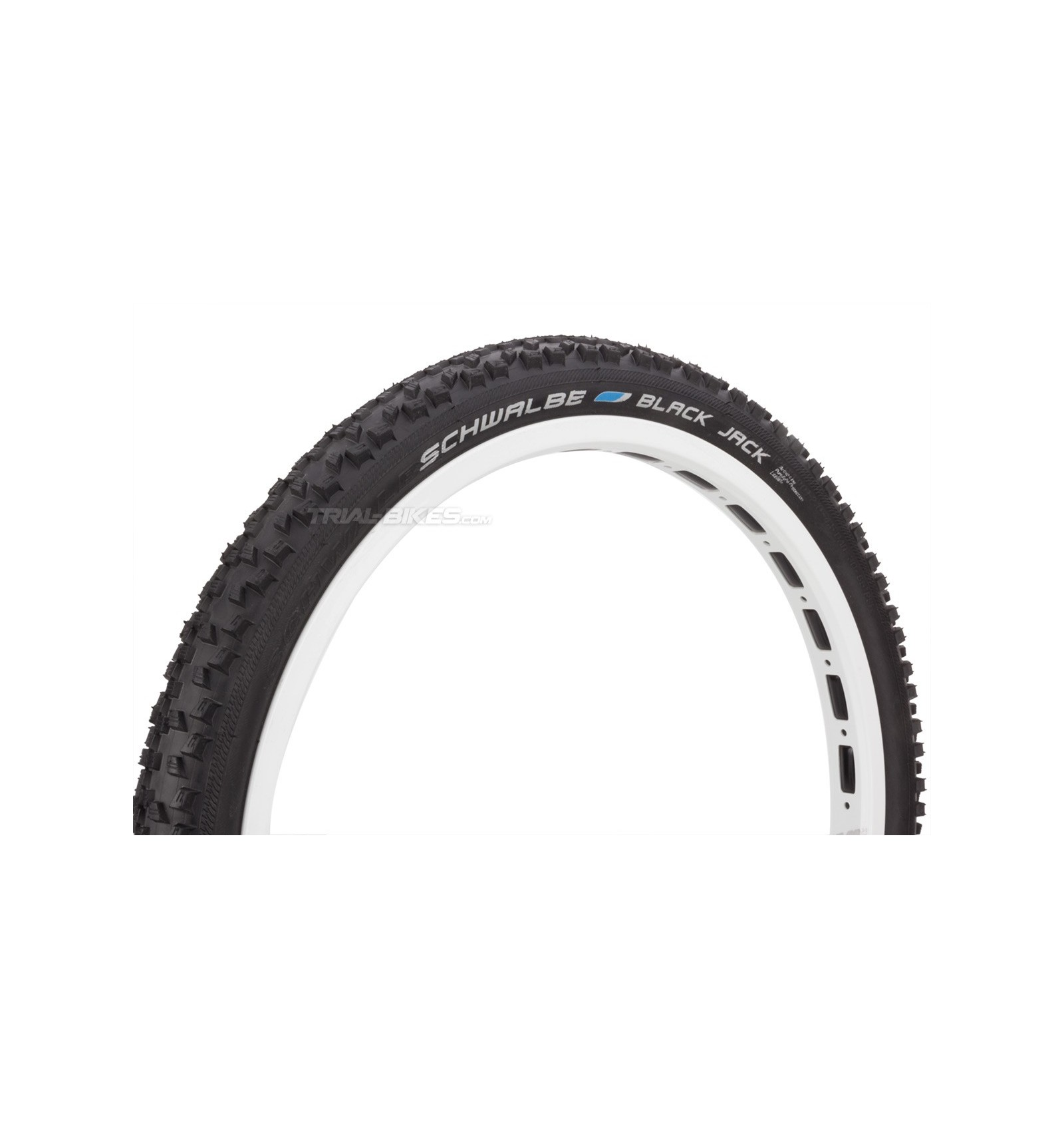 "Schwalbe BLACK JACK Bike Tyres 16/"" 18/"" 20/"" 24/"" 26/"" hose lengths"