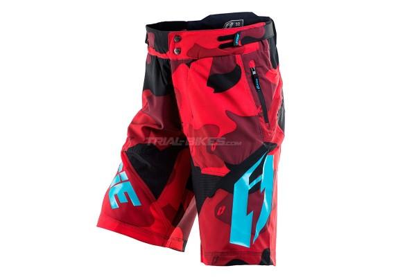 Pantalón corto Jitsie B3 Squad Rojo/Azul cerceta