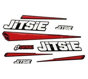 Jitsie Varial Sticker Kit