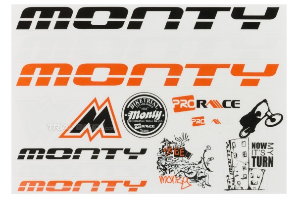Monty New Era Sticker Set