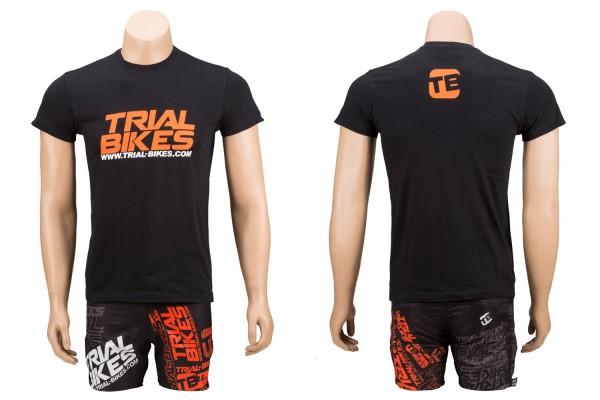 Camiseta TrialBikes Atomic Negra