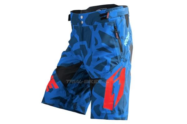 Pantalón corto Jitsie B3 Kroko Azul/Rojo