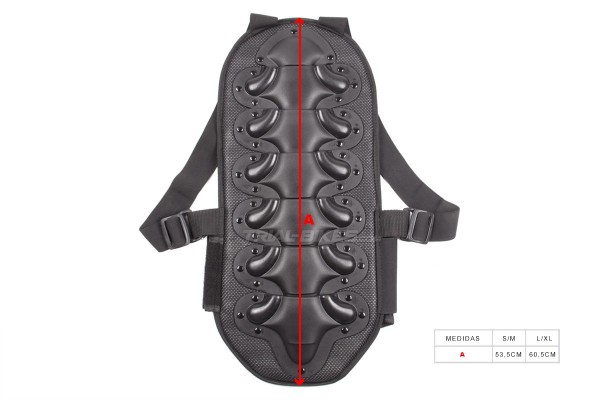TB BackPro Sport Back Protection