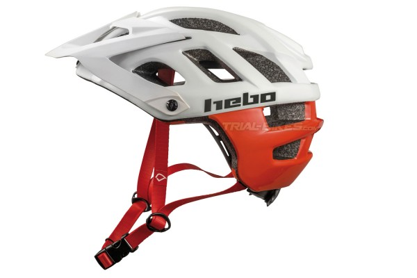 Casco Hebo Crank 1.0 Blanco/Rojo