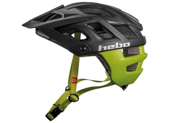 Hebo Crank 1.0 Black/Green Helmet