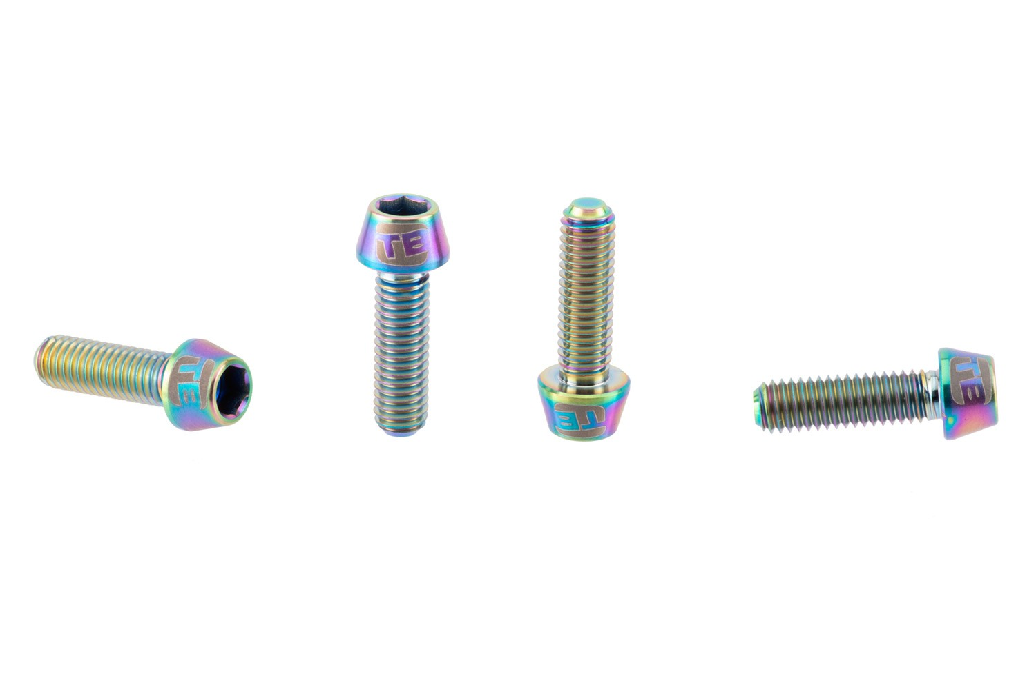 Cycling M6 Titanium Bolts Ti Taper Head Super Light Various Lengths