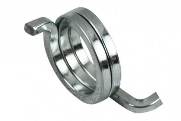 Clean tensioner spring