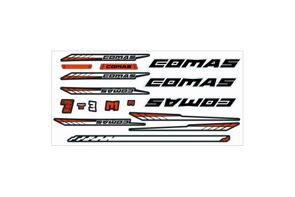 Comas R1 Sticker Set