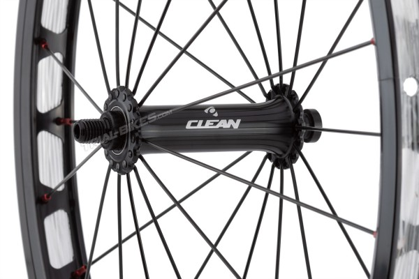 "Clean X3 20"" Front Non-Disc Wheel with 12mm through-axle"