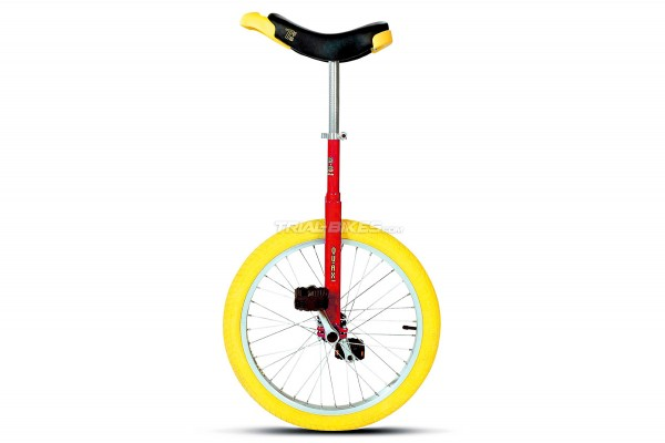 """Quax Red 20"""" Unicycle"""