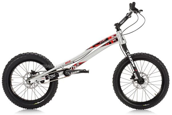 "TMS EVO6 20R 20"" Bike Silver"