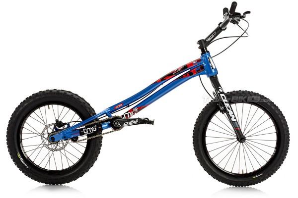 """TMS EVO6 20R 20"""" Bike Blue"""