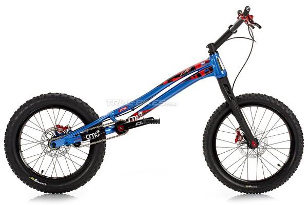 "Bicicleta TMS EVO6 20R Race 20"" Azul"