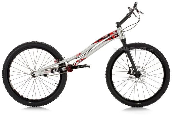 "Bicicleta TMS EVO6 26Y 26"" Gris"