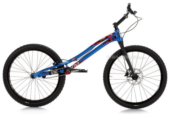 """TMS EVO6 26Y 26"""" Bike Blue"""