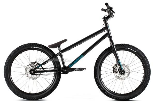 """Bicicleta Ozonys Crown 24"""" 2020 Negra"""