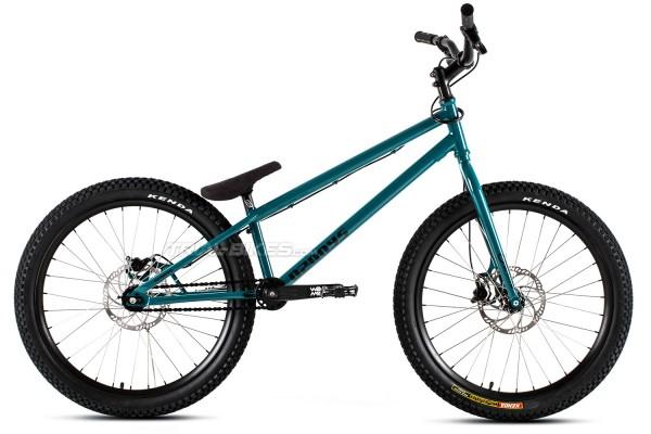"""Ozonys Crown 24""""  2020 Bike Blue/Green"""