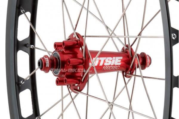 """Jitsie Race 20"""" Front Disc Wheel"""