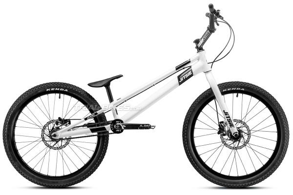 "Jitsie Varial 24"" Hybrid Bike White edition"