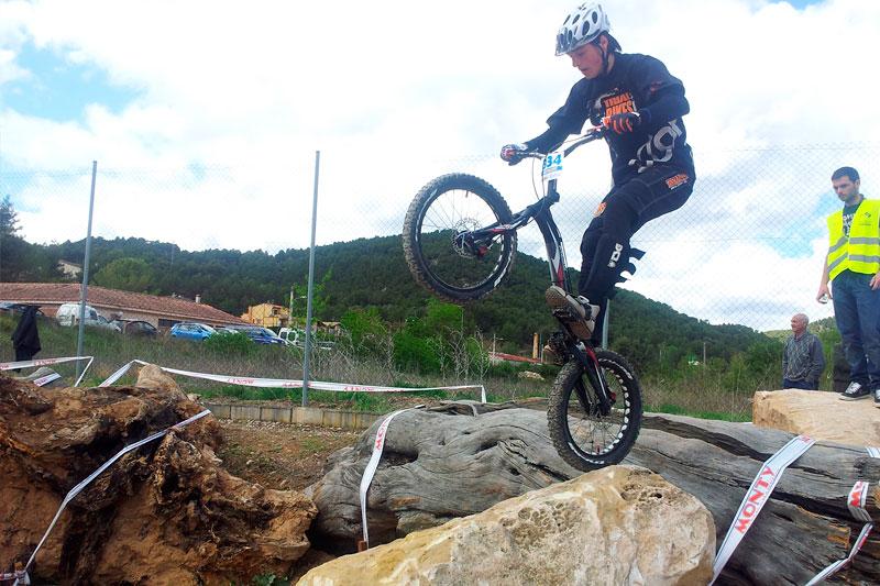 Equipo Trial-Bikes en Valderrobres
