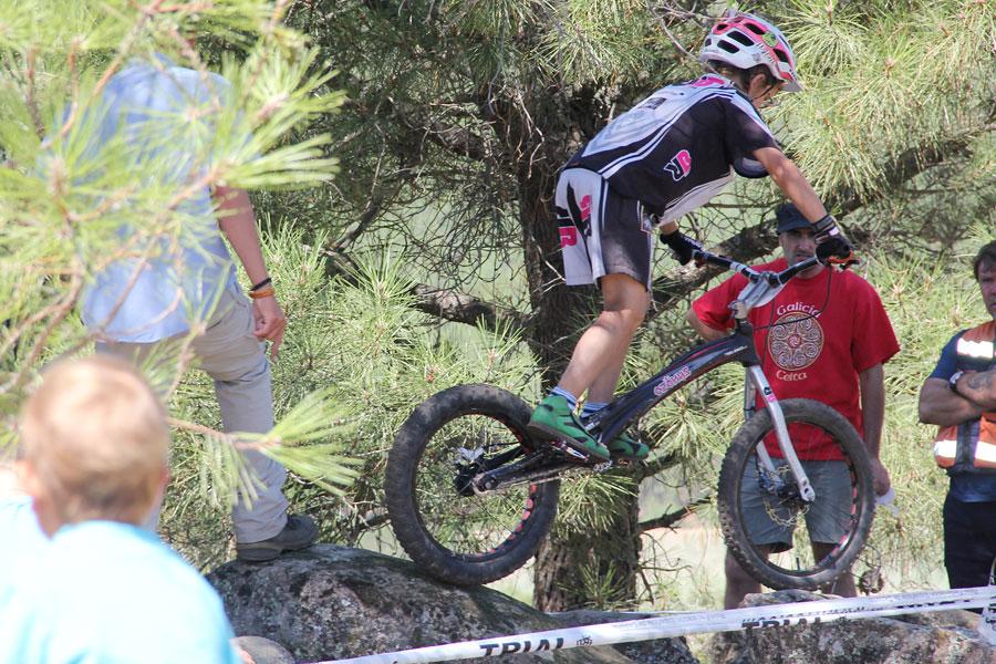 Equipo Infantil Trial-Bikes en el Campeonato de España de Pedro Bernardo