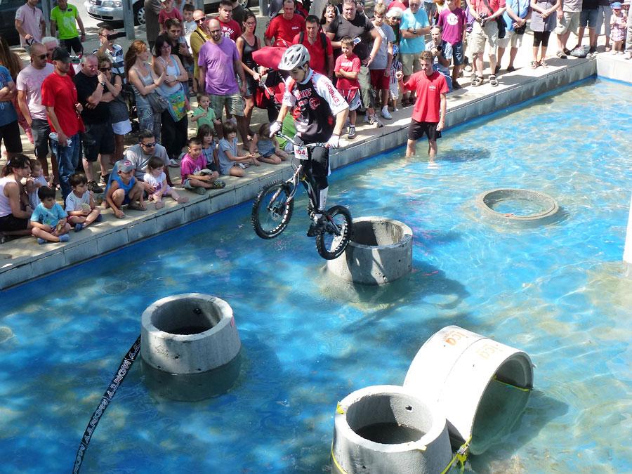 Bernat Seuba del Equipo Trial-Bikes en el campeonato del mundo de Igualada