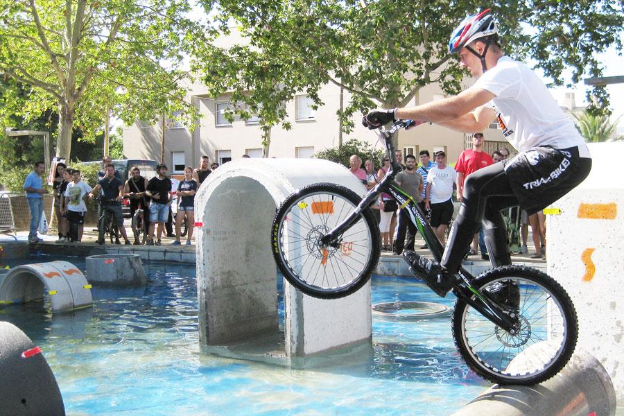 El equipo Trial-Bikes en el Campeonato del Mundo en Igualada 2012