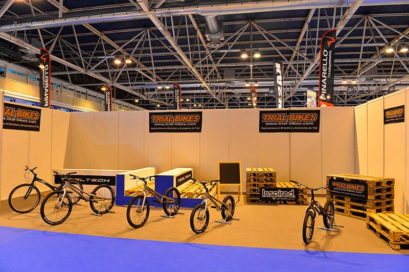 Stand de Trial-Bikes en Expobike 2012