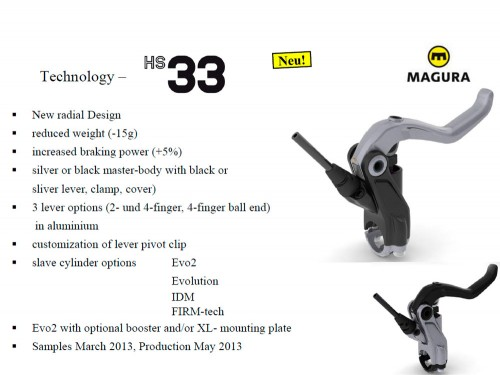 Frenos hidraulicos Magura Hs33 2013 en Trial-Bikes