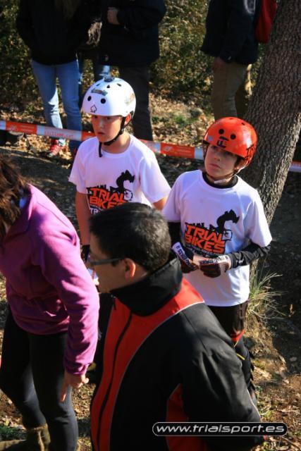 Riders del Equipo Infantil de Trial-Bikes