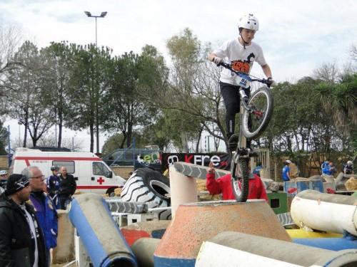 ALEJANDRO MONTALVO del equipo infantil de Trial Bikes