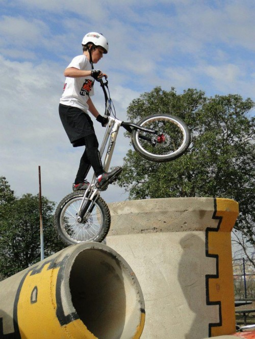 ALEJANDRO MONTALVO del Equipo infantil de Trial-Bikes