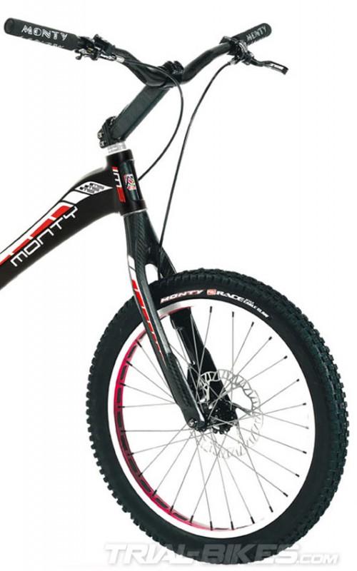 bicicleta trial monty m5 carbono