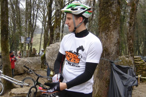 Ion Areito del equipo TrialBikes