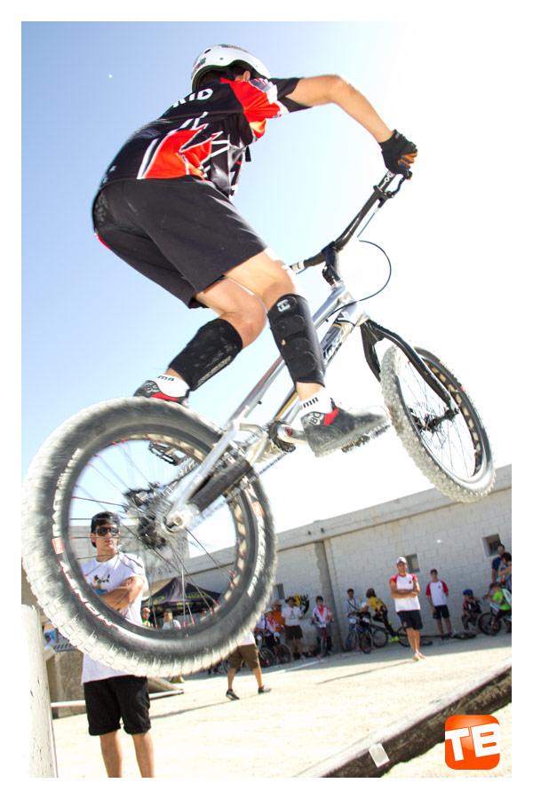 Equipo Trial Bikes en el campeonato de España de Trial Bici