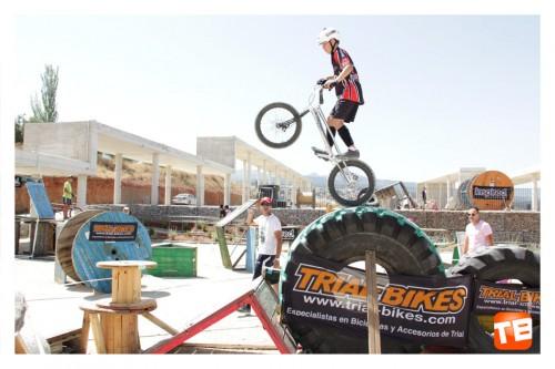 Alejandro Montalvo en Trial Bici Huetor Vega