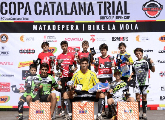 copa catalana Trial Bici