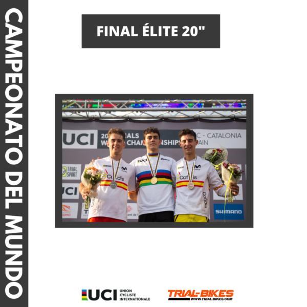 Borja Conejos Campeón de Trial 2021