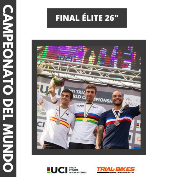 Jack Carthy Campeón del Mundo Trial Bici 2021