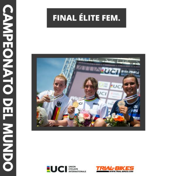 Vera Barón Campeona del Mundo Trial Bici 2021