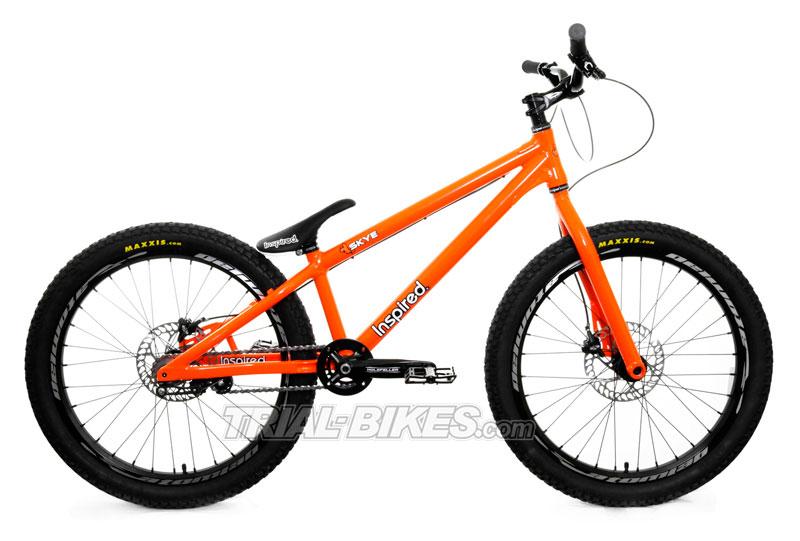 Nueva bicicleta de Trial Inspired en Trial-Bikes