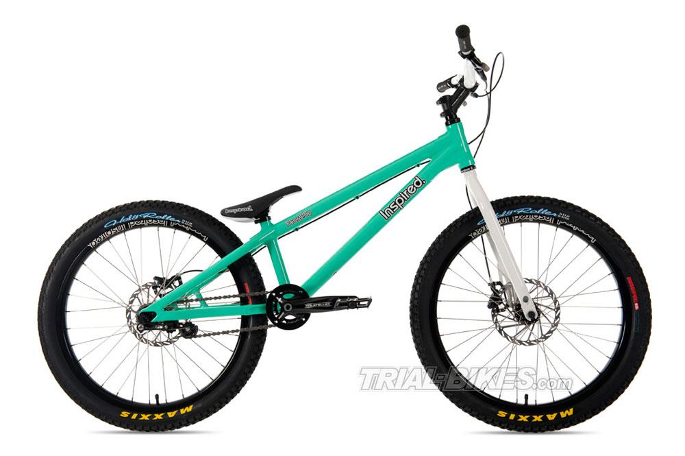 Nueva bicicleta de Trial Inspired pro en Trial-Bikes